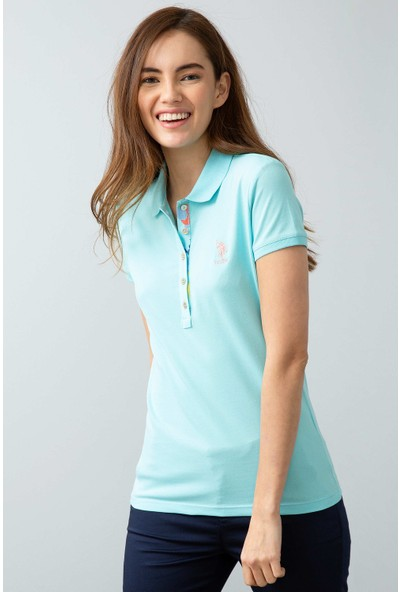 U.S. Polo Assn. Kadın T-Shirt 50198886-VR007
