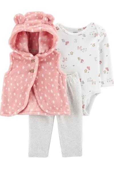 Carter's Kız Bebek 3'lü Set - Vs 18592810