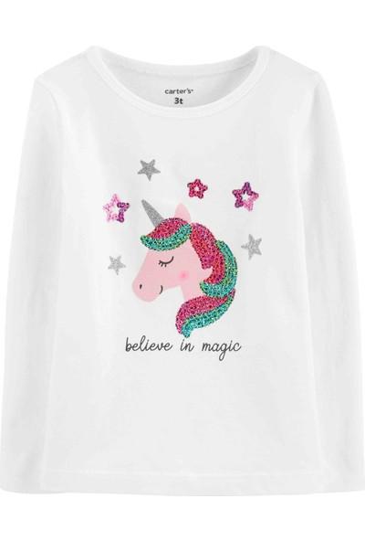 Carter's Küçük Kız Çocuk T-shirt - Pw 29112710