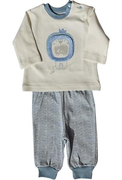 Baby Corner Aslanlı 2'li Alt Üst Takım