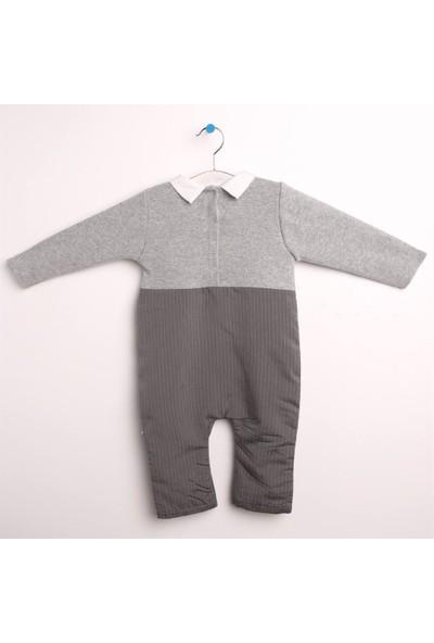 Babydoll Yelekli Papyonlu Tulum Erkek Bebek Giyim