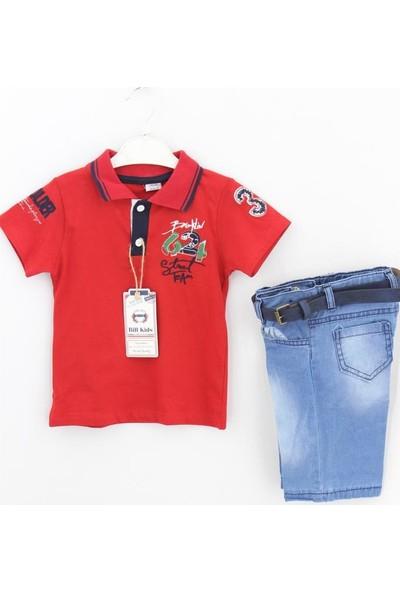 Bilkids Nakış Polo Erkek 2'li Takım Erkek Çocuk Giyim