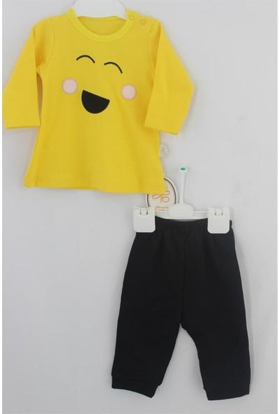 Tomuycuk Gülen Emoji Organik Bebek Giyim