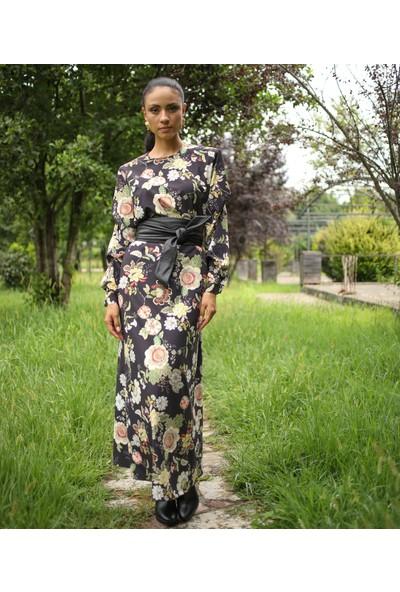 Habb Kadın Çiçekli Elbise