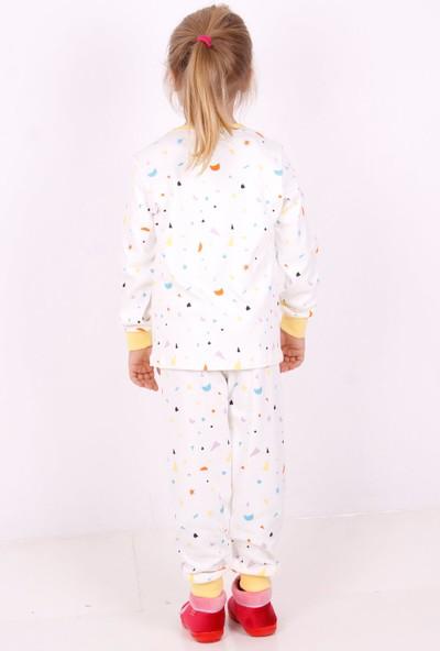Toontoy Ayıcık Baskılı Çocuk Pijama Takımı