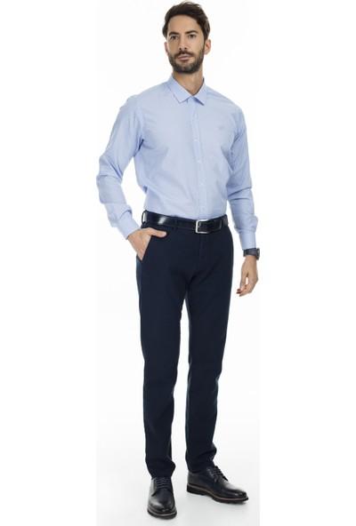 Sabri Özel Uzun Kollu Slim Fit Gömlek Erkek Uzun Kollu Gömlek 5431615