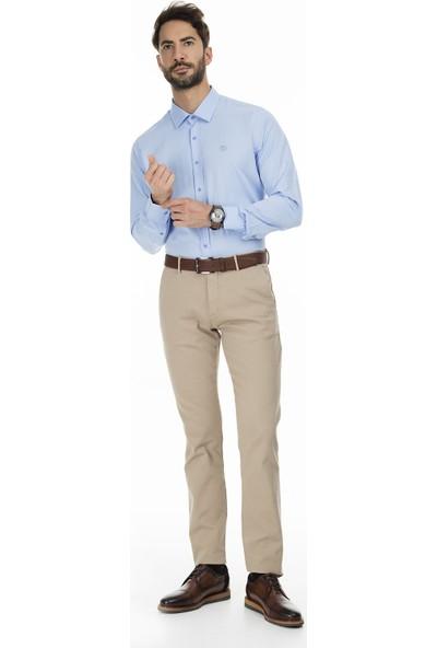 Sabri Özel Uzun Kollu Slim Fit Gömlek Erkek Uzun Kollu Gömlek 5431628