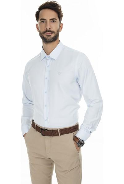 Sabri Özel Uzun Kollu Slim Fit Gömlek Erkek Uzun Kollu Gömlek 5431630