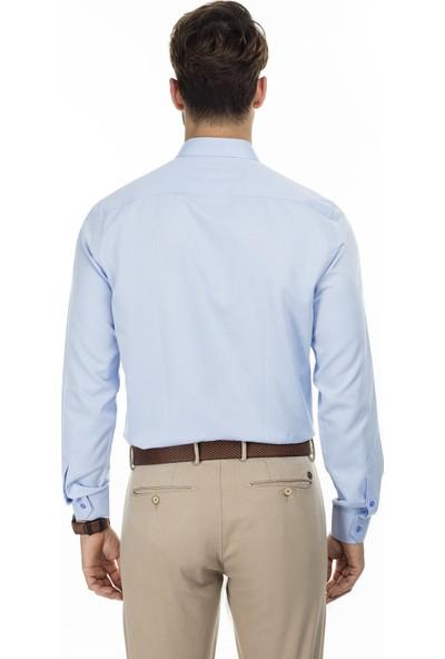 Sabri Özel Uzun Kollu Slim Fit Gömlek Erkek Uzun Kollu Gömlek 5431631