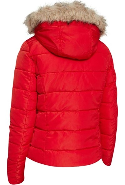 Vero Moda 10221718 Kadın Mont Kırmızı
