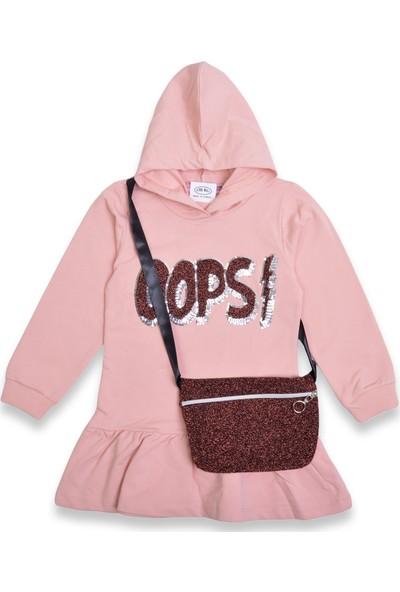 My Candy Kız Çocuk Çantalı Elbise