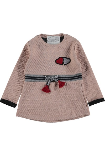 Via Girls Kız Çocuk Fiyonklu Elbise
