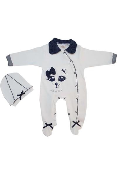 Bertoby Kedili Kız Bebek Tulum