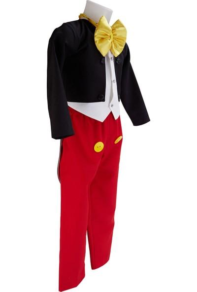 Janjan Kostüm Mickey Mause Erkek Çocuk Kostümü