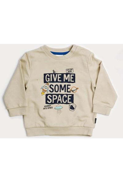 Wonder Kids Erkek Bebek Sweatshirt