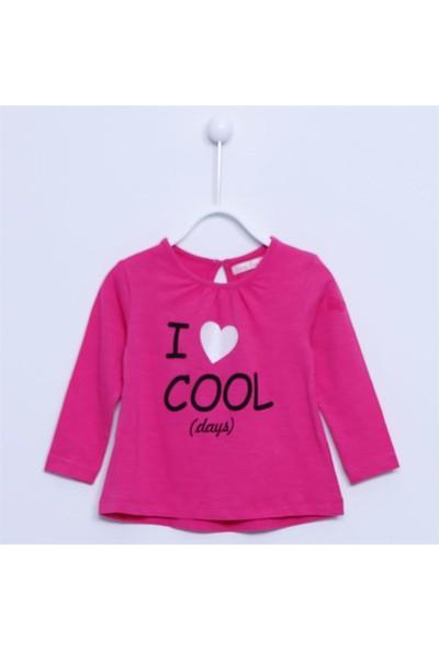 Silversun Bebek Kız - Uzun Kollu T-Shirt - Bk-113173