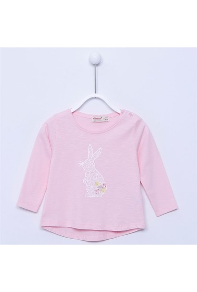 Silversun Bebek Kız - Uzun Kollu T-Shirt - Bk-113311