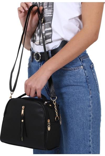 Çanta Sanatı Deep Siyah Kadın Çantası YM035