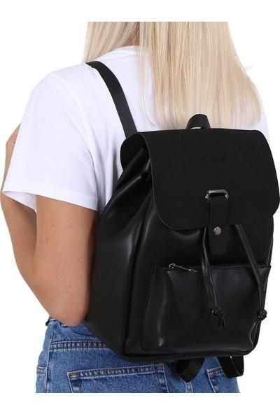 Çanta Sanatı Lexa Siyah Nubuk Kadın Çantası MC055