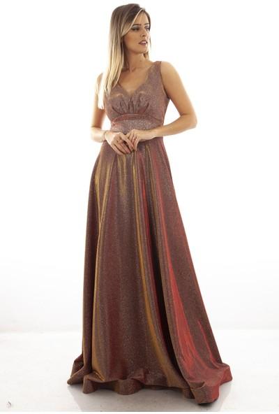Arda New Line Kadın Gul Abiye Elbise 1301308.25