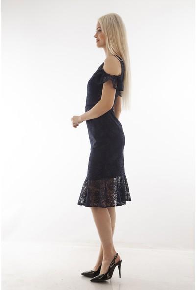 Arda New Line Kadın Lacivert Elbise 130157.02