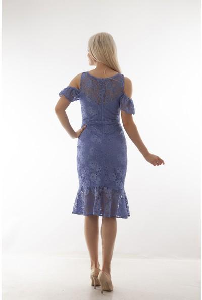 Arda New Line Kadın Indıgo Elbise 130157.98