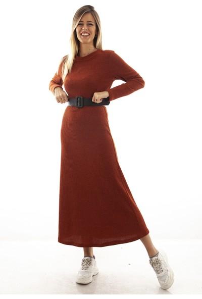 Arda New Line Kadın Kiremit Elbise 9403253.48