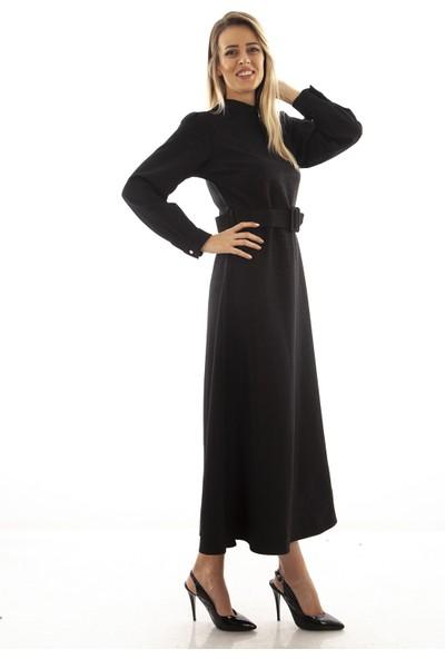 Arda New Line Kadın Siyah Elbise 9403259.01