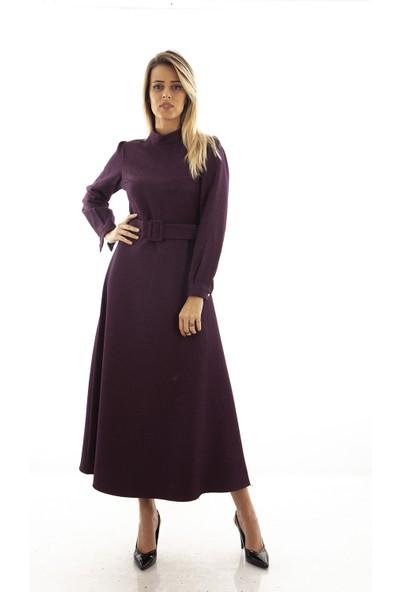 Arda New Line Kadın Mor Elbise 9403259.03