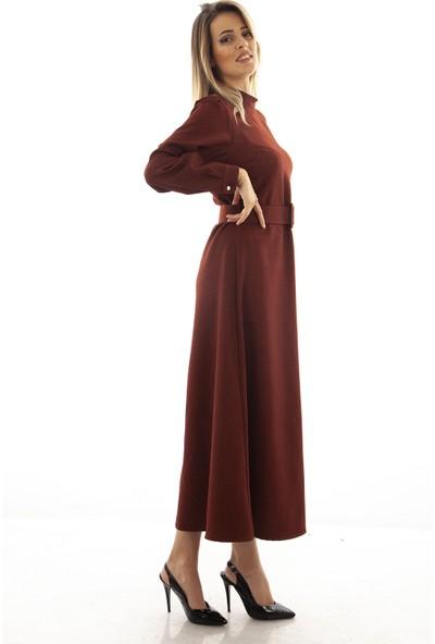 Arda New Line Kadın Kiremit Elbise 9403259.48