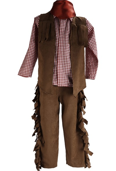 Janjan Kostüm Kovboy Erkek Çocuk Kostüm