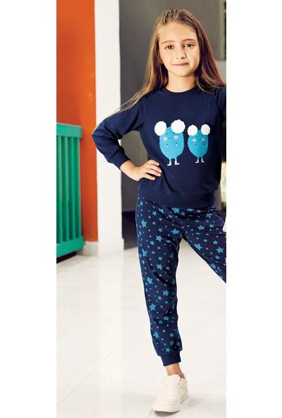 Pikidor Stars Pijama Takımı / Lacivert