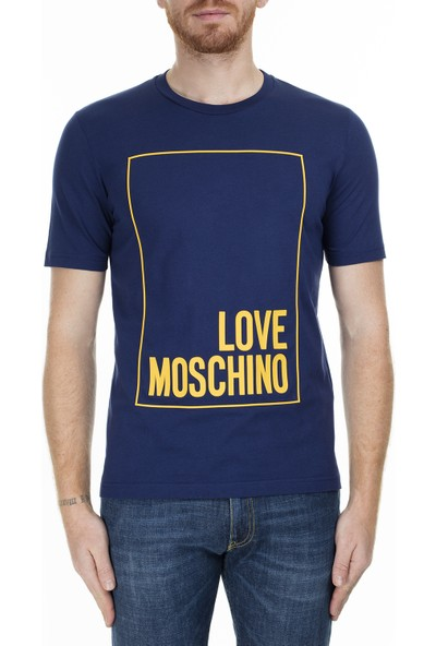 Love Moschino Erkek T-Shirt M47322RM3876 Y56