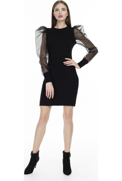 Lela Tül Detaylı Elbise Kadın Elbise 54520102V