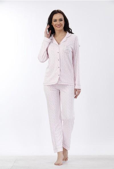 Etoile Cotton Uzun Kol Pijama Takımı 98050