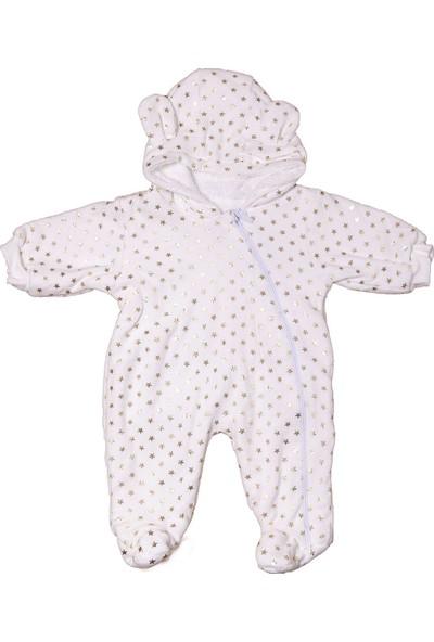 Puan Baby Yıldız Varaklı Polar Tulum