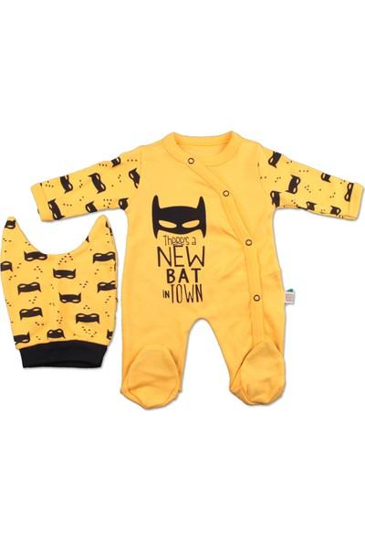 Batman Şapkalı Bebek Tulum