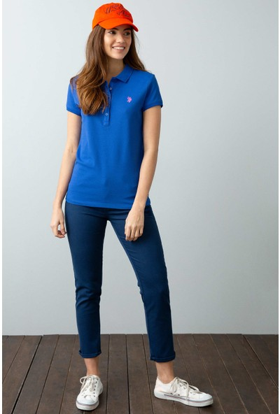U.S. Polo Assn. Kadın T-Shirt 50202756-Vr045