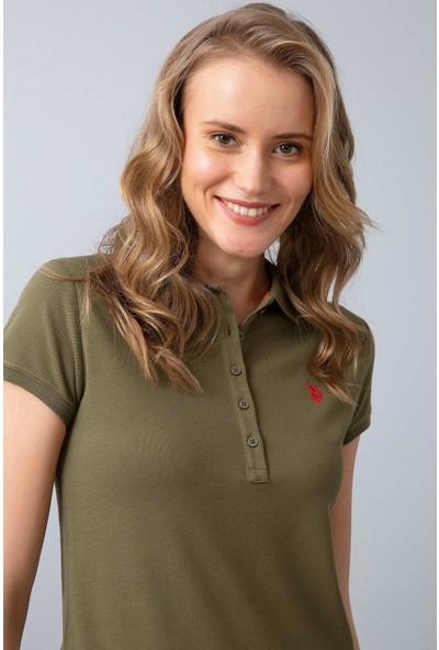 U.S. Polo Assn. Kadın T-Shirt 50202756-Vr111