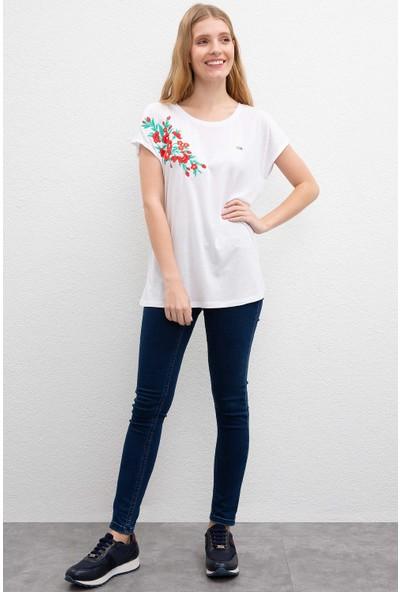 U.S. Polo Assn. Kadın T-Shirt 50203361-Vr013
