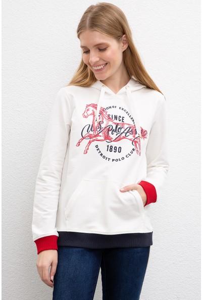 U.S. Polo Assn. Kadın Sweatshirt 50205952-Vr019