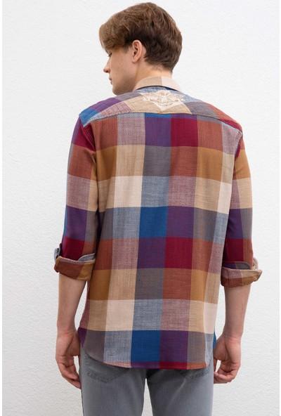 U.S. Polo Assn. Erkek Dokuma Gömlek 50207290-Vr014