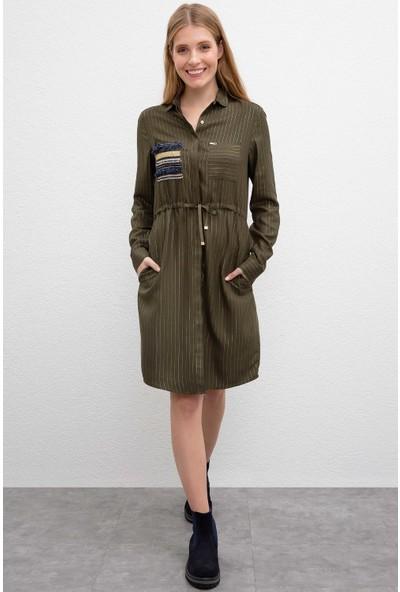 U.S. Polo Assn. Kadın Dokuma Elbise 50207465-Vr027