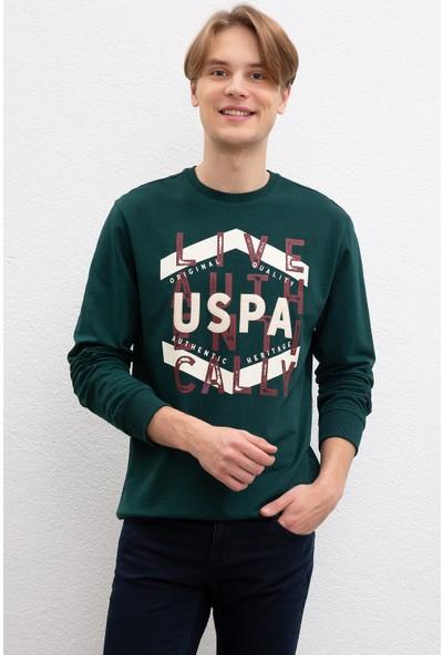 U.S. Polo Assn. Erkek Sweatshirt 50207482-Vr079