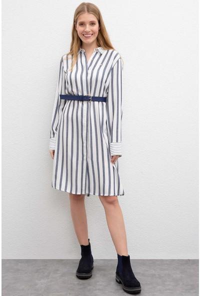 U.S. Polo Assn. Kadın Dokuma Elbise 50209462-Vr033