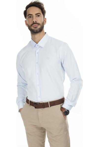 Sabri Özel Uzun Kollu Slim Fit Gömlek Erkek Uzun Kollu Gömlek 5431626B