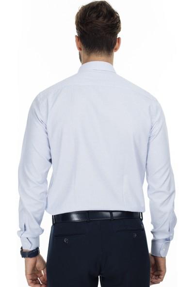 Sabri Özel Slim Fit Uzun Kollu Gömlek Erkek Uzun Kollu Gömlek 5431640A