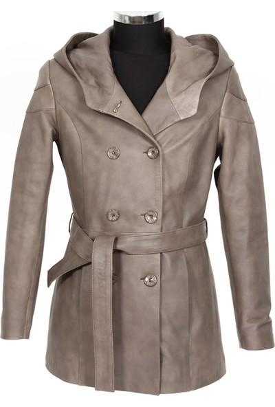 Gön Deri Kadın Ceket D3551