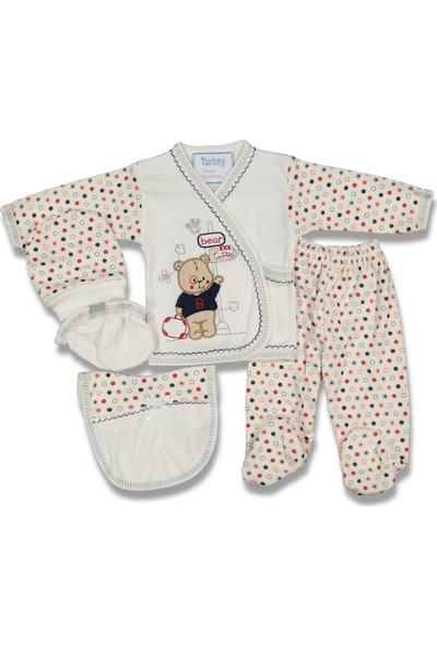 Lia Bebe 5'li Çantalı Ayı Set