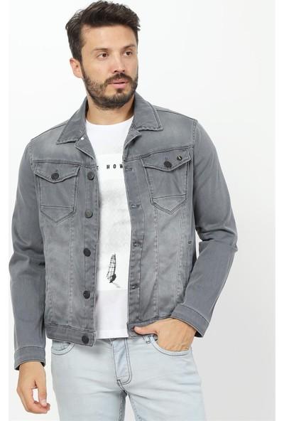 Twister Jeans Jack J24-06 Gri Denim Ceket